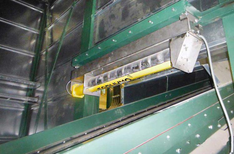 Contrôle de la non radioactivité des conteneurs : détection des sources radioactives