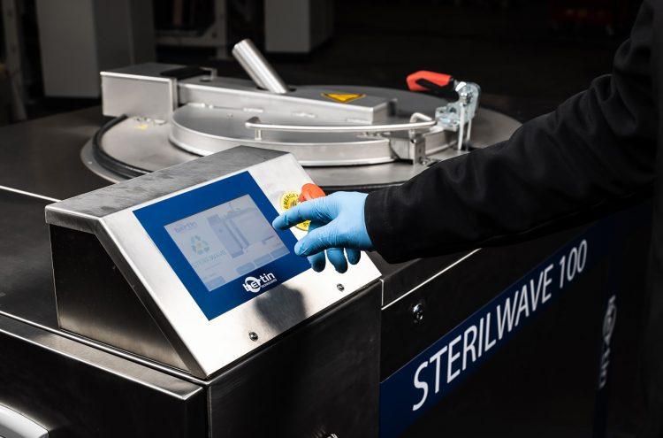 Programmation du Sterilwave 100