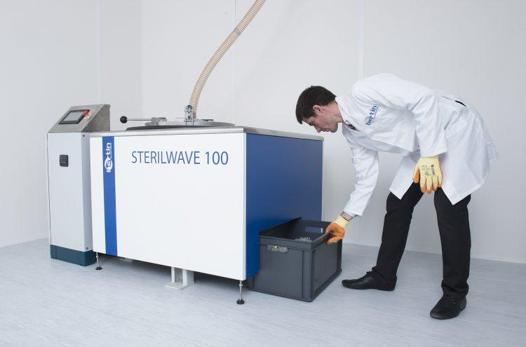 Sterilwave 100, broyage des DASRI par lames rotatives