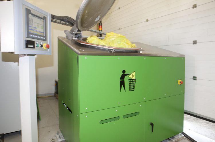 Sterilwave 250, pour le traitement des déchets hospitaliers sur site