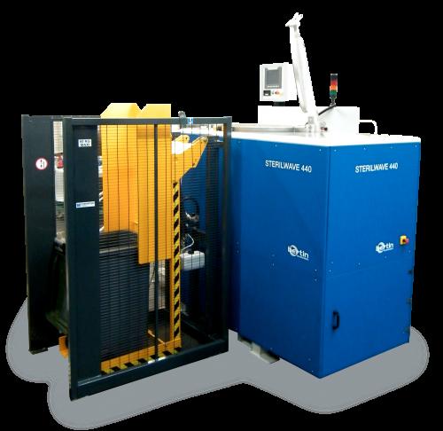 Sterilwave 440, solution pour le traitement sur place des déchets biomédicaux