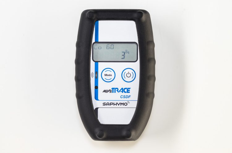 MiniTRACE CSDF, outil de radioprotection portable et de mesure de la radiation