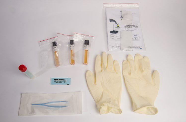 Exemple de kit d'inactivation biologique
