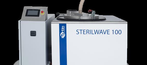 Extraction de vapeur - Sterilwave 100