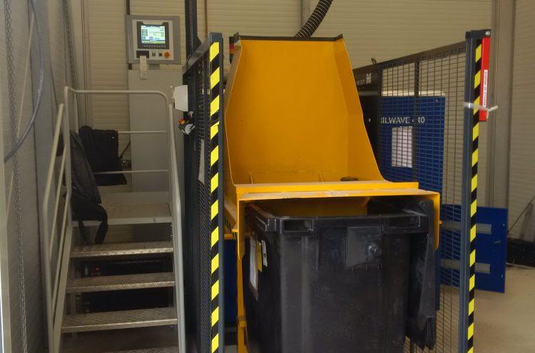 Renverseur de déchets (capacité 1000L)