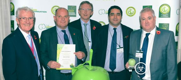 Sterilwave, gagnant du Green Apple Environmental Services Award 2017