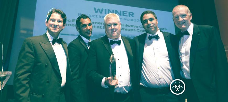 Sterilwave, Innovation de l'Année pour le secteur de la santé UK